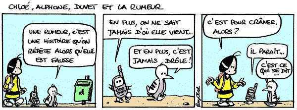 Rumeur - Lecture - Bande dessinée - P-Q-R