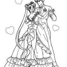 Coloriages Coloriage De Sailor Moon Et Bourdu Fr Coloring Pages For Your Boyfriend Free