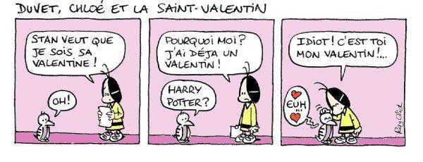 Saint Valentin - Lecture - Bande dessinée - S-T-U