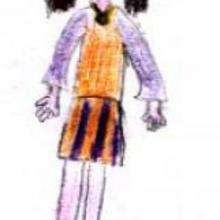 Dessin d'enfant : Sara d'Espagne