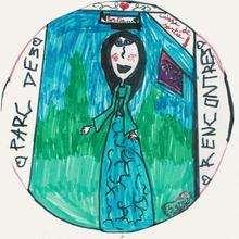 Dessin d'enfant : Sarah Leclerc de St Maurice de Tavernole (France)