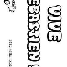Sebastien - Coloriage - Coloriage PRENOMS - Coloriage PRENOMS LETTRE S