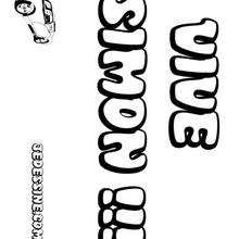 Simon - Coloriage - Coloriage PRENOMS - Coloriage PRENOMS LETTRE S