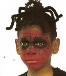 activit s manuelles maquillage de spiderman. Black Bedroom Furniture Sets. Home Design Ideas