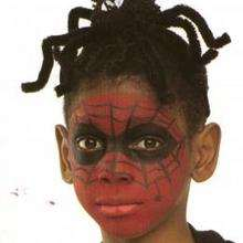 Maquillage de spiderman