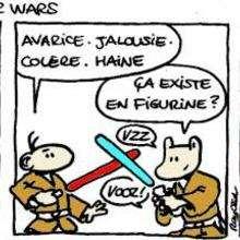 Planche de BD : Star Wars