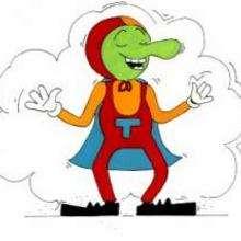 Dessin d'enfant : Super E.T.