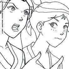 Coloriage des Totally Spies 2
