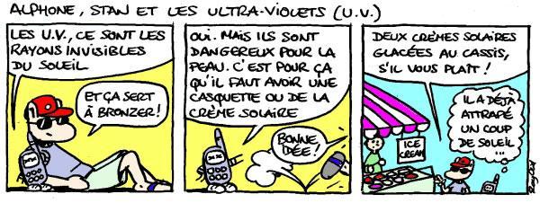 U.V - Lecture - Bande dessinée - S-T-U