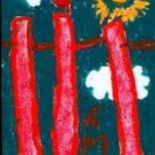 Un oiseau de l'Océan Indien - Dessin - Dessin PAYS - Dessin ASIE - Dessin ASIE A COLORIER