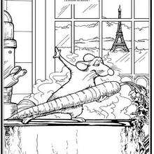 RATATOUILLE à colorier