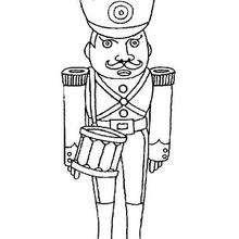 Coloriage d'un soldat - Coloriage - Coloriage A IMPRIMER - Coloriage A IMPRIMER PERSONNAGES - Coloriage de PERSONNAGES HISTORIQUES