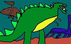 Un Tyranosaure