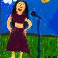 Une chanteuse