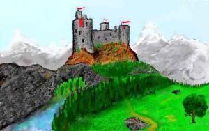 Une forteresse