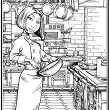 Coloriage gratuit RATATOUILLE - Coloriage - Coloriage DISNEY - Coloriage RATATOUILLE