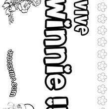 Coloriage : Winnie