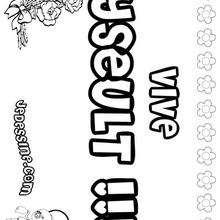 Yseult - Coloriage - Coloriage PRENOMS - Coloriage PRENOMS LETTRE Y