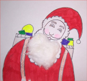 Comment dessiner le p re no l - Pere noel facile a dessiner ...