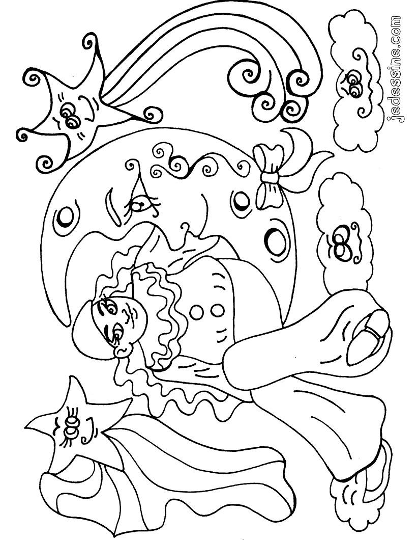 Coloriages coloriage de l 39 ami pierrot - Dessin de pierrot ...