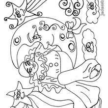 Coloriage de l'ami Pierrot - Coloriage - Coloriage A IMPRIMER - Coloriage A IMPRIMER PERSONNAGES - Coloriage de PERSONNAGES D'AUJOURD'HUI