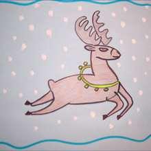 Tuto de dessin : Le Renne de Noël