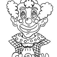 Coloriage : Clown à colorier