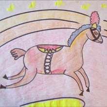 Tuto de dessin : Le cheval de cirque