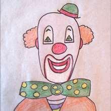 Portrait d'un clown