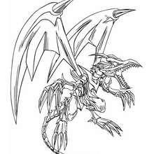 Coloriage de Yu-Gi-Oh : Black Dragon 2 - Coloriage - Coloriage MANGA - Coloriage Yu-Gi-Oh!