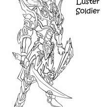 Coloriage de Yu-Gi-Oh : Black Luster Soldier 2