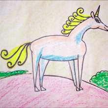 La licorne - Dessin - Apprendre à dessiner - Dessiner des personnages de Contes