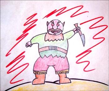 Comment Dessiner L Ogre Terrible Fr Hellokids Com