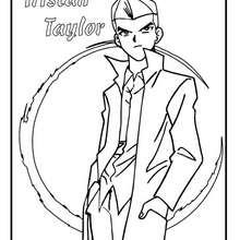 Coloriage de Yu-Gi-Oh : Tristan Taylor - Coloriage - Coloriage MANGA - Coloriage Yu-Gi-Oh!