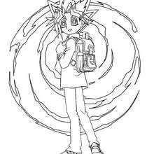 Coloriage de Yu-Gi-Oh 2 - Coloriage - Coloriage MANGA - Coloriage Yu-Gi-Oh!