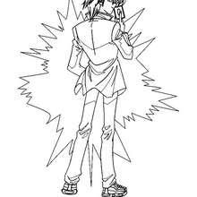 Coloriage de Yu-Gi-Oh 3