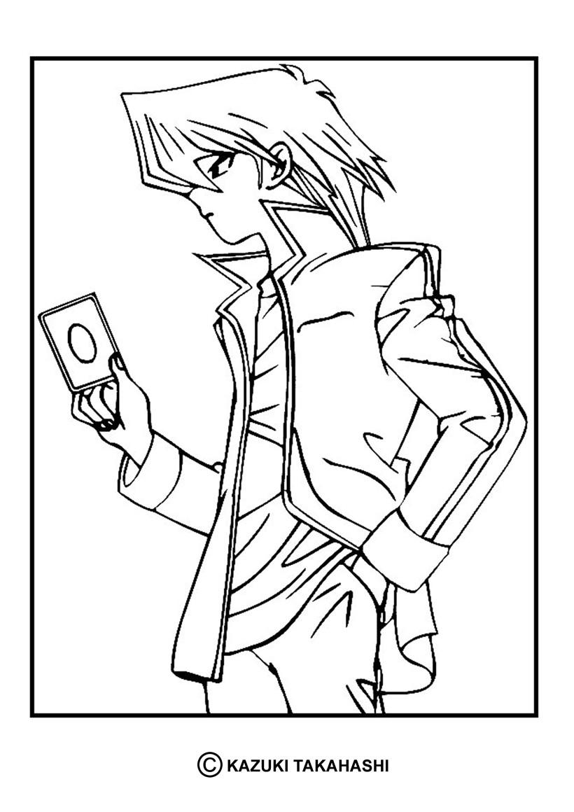 Coloriages coloriage de yu gi oh 5 - Dessin anime yu gi oh ...