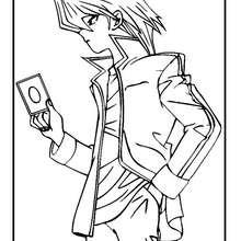 Coloriage de Yu-Gi-Oh 5 - Coloriage - Coloriage MANGA - Coloriage Yu-Gi-Oh!