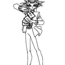 Coloriage de Yu-Gi-Oh 7