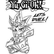 Coloriage de Yu-Gi-Oh 8 - Coloriage - Coloriage MANGA - Coloriage Yu-Gi-Oh!