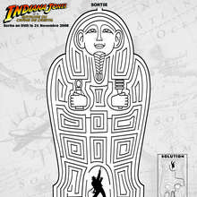 Labyrinthe Indiana Jones - Jeux - Jeux de Labyrinthes