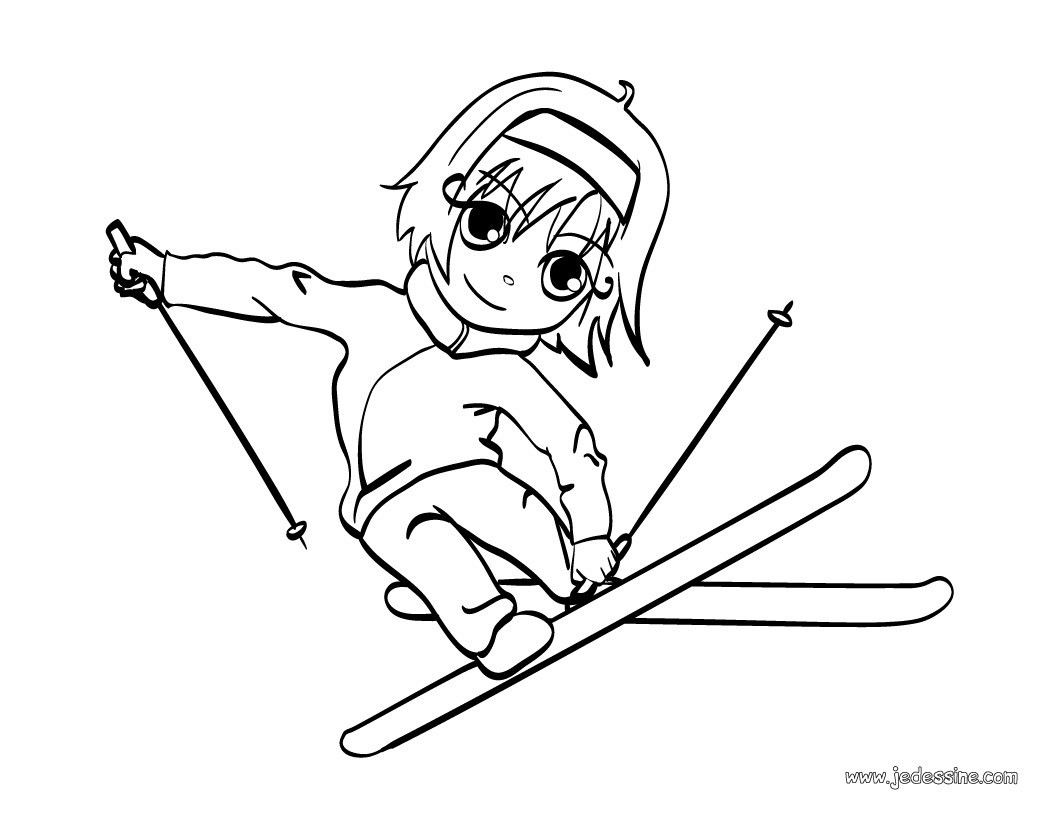 Echange franco allemand romans pfarrkirchen blog - Coloriage ski ...