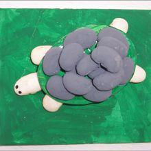 Fiche bricolage : Les animaux en haricots (ou en cailloux)