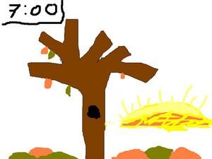 Comment dessiner arbre en automne - Arbre automne dessin ...