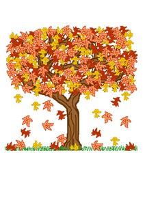 Comment dessiner arbre d 39 automne - Arbre automne dessin ...