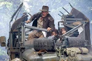 Indiana Jones et le Royaume du Crâne de Cristal (en DVD le 21/11) - Vidéos - Les dossiers cinéma de Jedessine - Archives cinéma - DVD Novembre & Décembre 2008