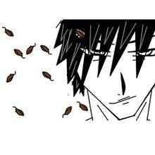 Dessin d'enfant : Personnage de Manga