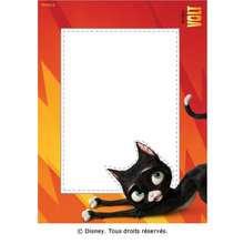 Un cadre photo avec Mittens