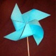 Fabriquer un moulin à vent. - Activités - BRICOLAGE FETES - BRICOLAGE POUR PREPARER LES FETES - Bricolage Anniversaire et Fêtes d'enfants