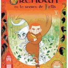 Album de BD : Brendan et le secret de Kells